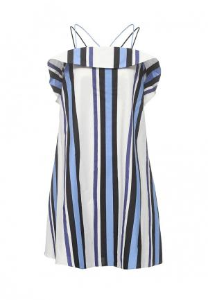 Платье Sportmax Code. Цвет: синий