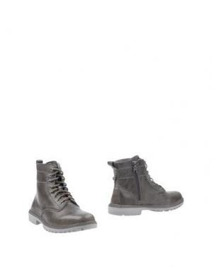 Полусапоги и высокие ботинки HEY DUDE. Цвет: свинцово-серый