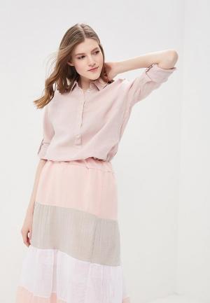 Рубашка Napapijri. Цвет: розовый