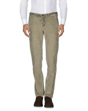 Повседневные брюки CELLAR DOOR. Цвет: хаки