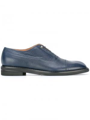 Туфли оксфорды Maison Margiela. Цвет: синий