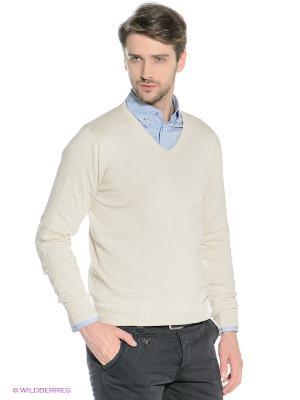 Пуловер Mezaguz. Цвет: молочный