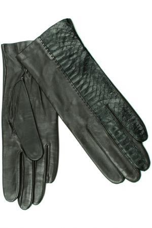 Перчатки Dali Exclusive. Цвет: коричневый, черный