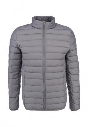 Куртка утепленная Fox. Цвет: серый