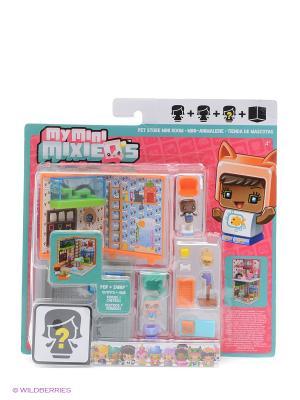 Игровой набор Мини-комната Mattel. Цвет: голубой, оранжевый, розовый
