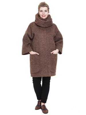Пальто SUCCESS. Цвет: коричневый