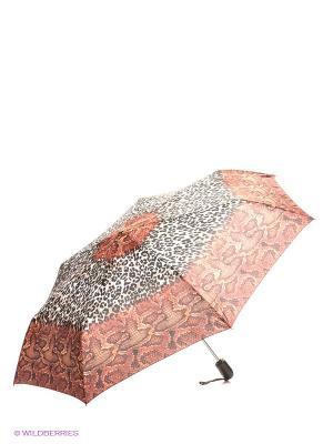 Зонт Airton. Цвет: коричневый, молочный, черный