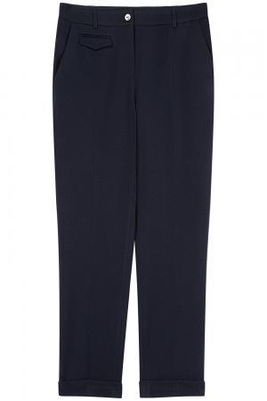 Темно-синие брюки Le monique