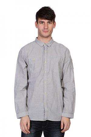 Рубашка  Stripe Grey Converse. Цвет: серый