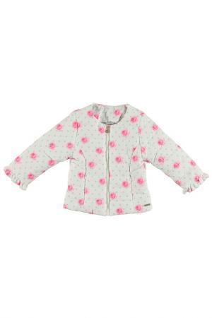 Куртка Sarabanda. Цвет: кремовый, розовый
