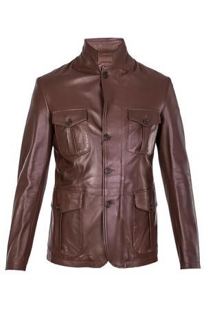 Куртка Smalto. Цвет: коричневый
