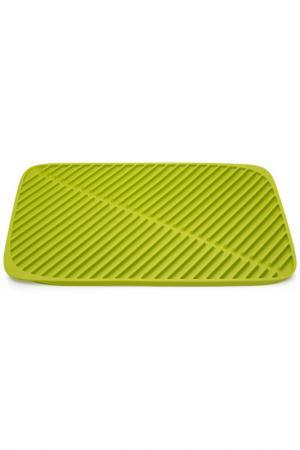 Коврик для сушки посуды Flume Joseph. Цвет: зеленый