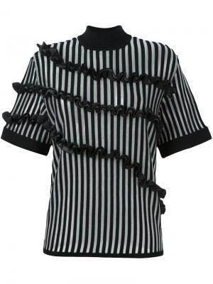 Декорированная блузка Opening Ceremony. Цвет: чёрный