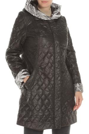 Пальто Дамская фантазия. Цвет: черный