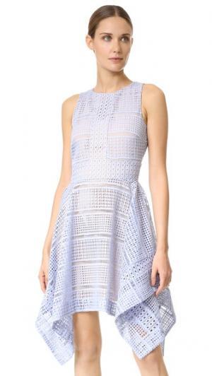 Кружевное платье Sweet Nothing Keepsake. Цвет: голубой