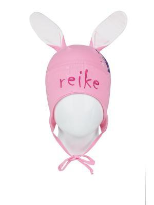 Шапка REIKE. Цвет: розовый