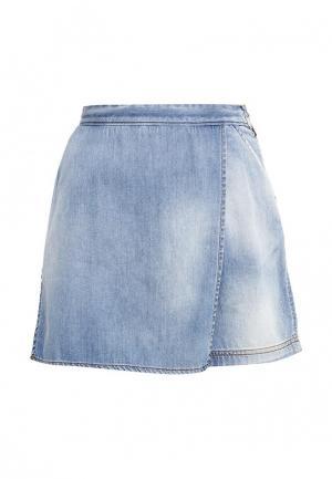 Шорты джинсовые Just Cavalli. Цвет: голубой