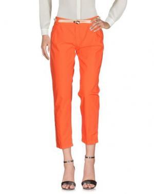 Повседневные брюки FRANKLIN & MARSHALL. Цвет: оранжевый