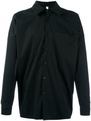 Рубашка прямого кроя Cottweiler. Цвет: чёрный