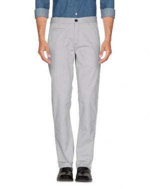 Повседневные брюки ONTOUR. Цвет: светло-серый