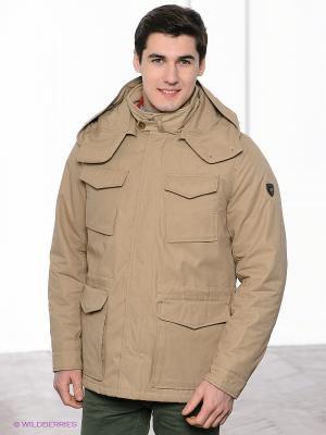 Куртка Navigare. Цвет: светло-коричневый