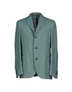 Пиджак ALAIN FRACASSÍ. Цвет: бирюзовый