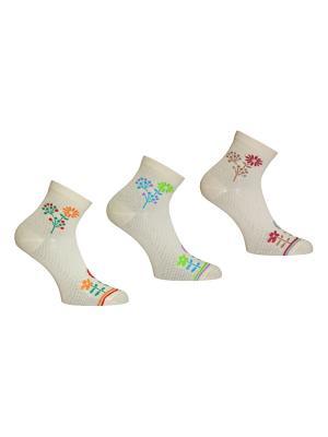 Носки, 3 пары Master Socks. Цвет: бирюзовый, зеленый, темно-бежевый