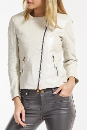 Куртка Ibana. Цвет: белый