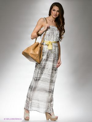 Платье Replay. Цвет: серый