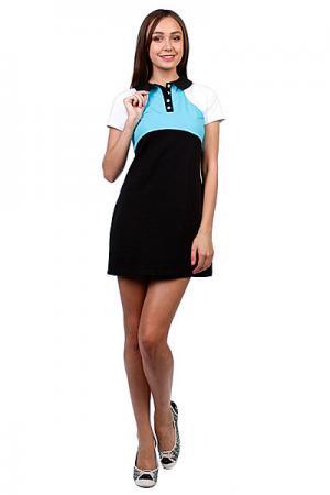 Платье женское  Wd 01 Blue Trailhead. Цвет: голубой,черный