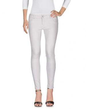 Джинсовые брюки ENTRE AMIS. Цвет: светло-серый