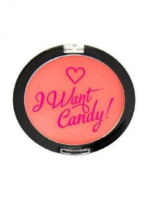 Румяна I Heart Makeup Want Candy Sugar & Spice Revolution. Цвет: коралловый