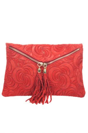 Clutch Lisa minardi. Цвет: red