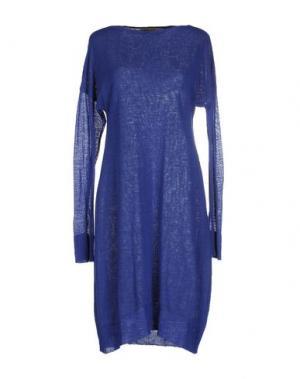 Короткое платье RE.SET. Цвет: синий