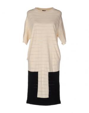 Платье до колена NEERA. Цвет: слоновая кость