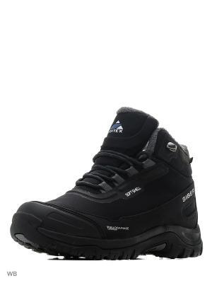 Ботинки SIBERIA EDITEX. Цвет: черный