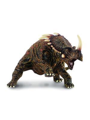Стиракозавр коричневый Collecta. Цвет: коричневый