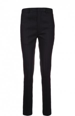 Зауженные брюки со стрелками и карманами Isabel Marant Etoile. Цвет: черный