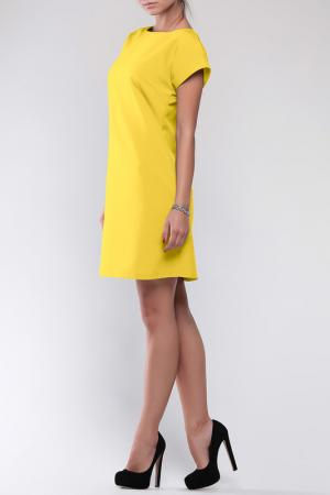 Платье REBECCA TATTI. Цвет: солнечный