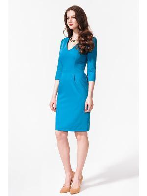 Платье La vida rica. Цвет: синий