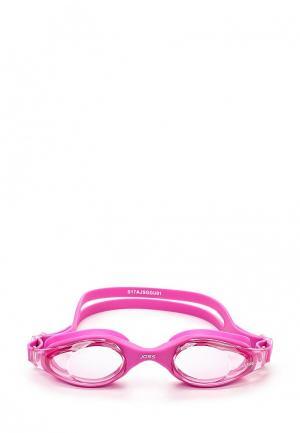 Очки для плавания Joss. Цвет: розовый