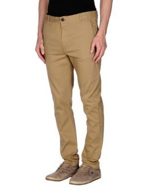 Повседневные брюки SUIT. Цвет: зеленый-милитари