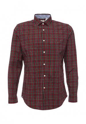 Рубашка Dockers. Цвет: красный