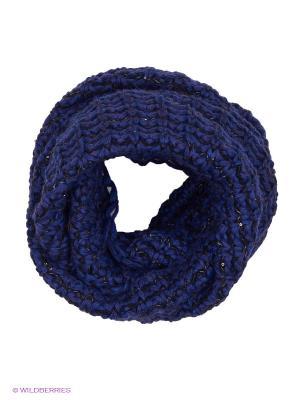Снуд Effre. Цвет: синий, черный