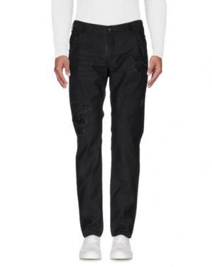 Джинсовые брюки TAKE-TWO. Цвет: черный