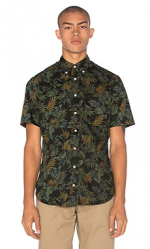 Рубашка на пуговицах Gitman Vintage. Цвет: черный