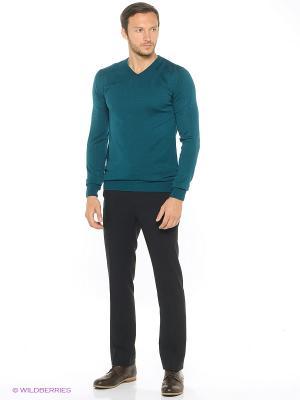 Пуловер Modis. Цвет: бирюзовый, темно-зеленый