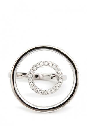 Кольцо Exclaim. Цвет: серебряный