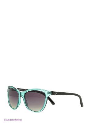 Солнцезащитные очки Franco Sordelli. Цвет: светло-голубой