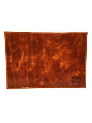 Обложка PORTE. Цвет: светло-коричневый, рыжий